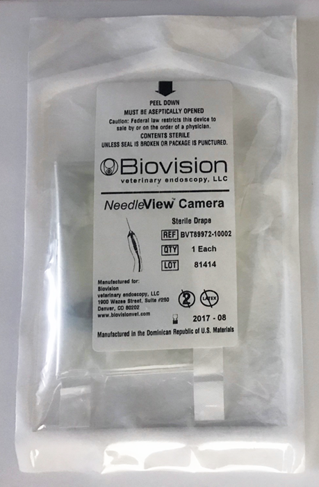 Sterile Sleeves for NeedleView Camera