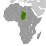 chad-location-map