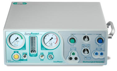 SurgAssist Insufflator and Electrosurgical Generator