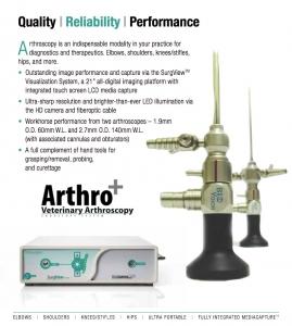 Biovision Veterinary Endoscopy's Arthro+ Suite
