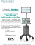 Biovision EndoDiagnostic+Surgical Suite EDSS including monitor, SurgView high definition LED imaging system, SurgAssist insufflator and electrosurgical generator, and point of care cart